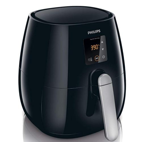 HD9230/26 Viva Col. Digital Airfryer Low Fat Fryer Multicooker Black