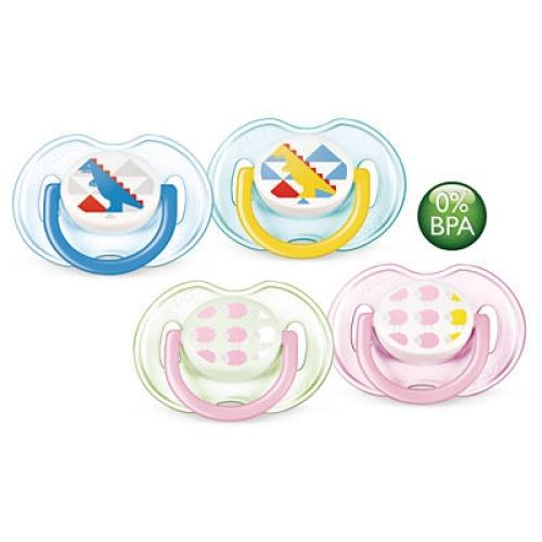 SCF172/18 Avent Classic Pacifiers 0-6M Orthodo