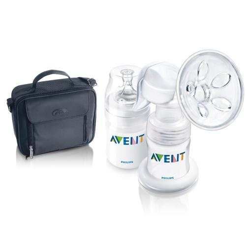 SCF310 Discontinued Manual Breast Pump Includes 4Oz Bottl