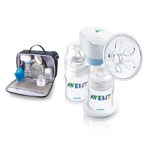 SCF312 Discontinued Single Electronic Breast Pump Include