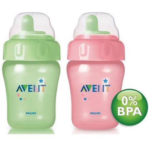SCF602/02 Avent Non Decorated Cup 260Ml 12M+ Toddler Spout